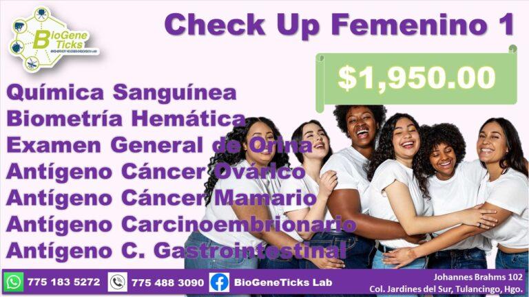 Check up femenino 1